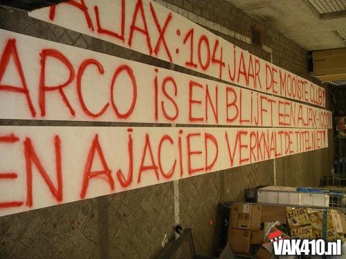 AFC Ajax - Vitesse (5-0)   21-03-2004