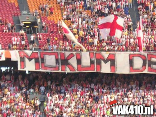 AFC Ajax - FC Utrecht (2-4) JCS   08-08-2004