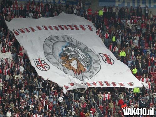 AFC Ajax - RBC (1-1)   18-04-2004