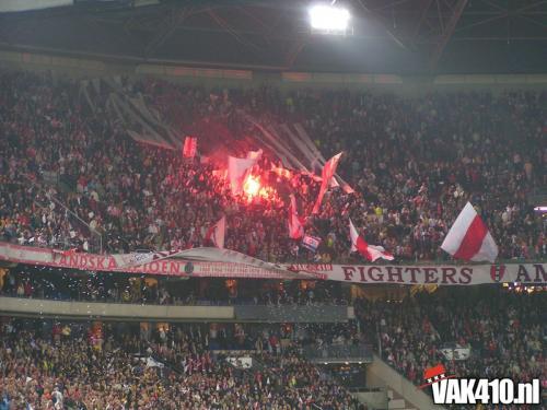 AFC Ajax - Maccabi Tel Aviv (3-0)   19-10-2004