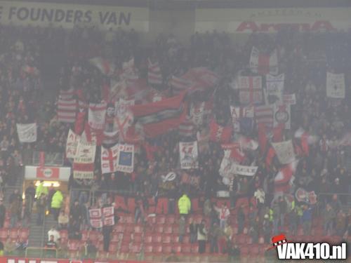AFC Ajax - HFC Haarlem (4-0) beker   24-01-2007