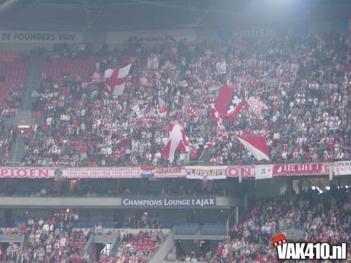AFC Ajax - Willem II (6-0)   28-09-2003