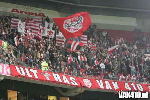 AFC Ajax - SC Heerenveen (3-1) beker   31-10-2007