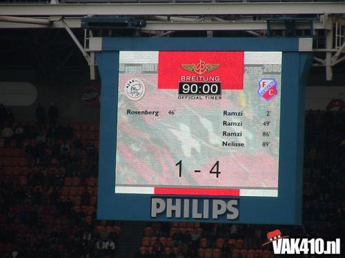 AFC Ajax - FC Utrecht (1-4) 5 jaar VAK410   29-01-2006